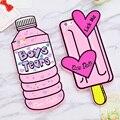 Новый 3D lovery Бутылки Мальчик Слезы Чехол для iphone 7/7 plus/6/6 s/6 плюс сердце мороженое Лизать Мне Куклы Мягкая Силиконовая резина Телефон крышка