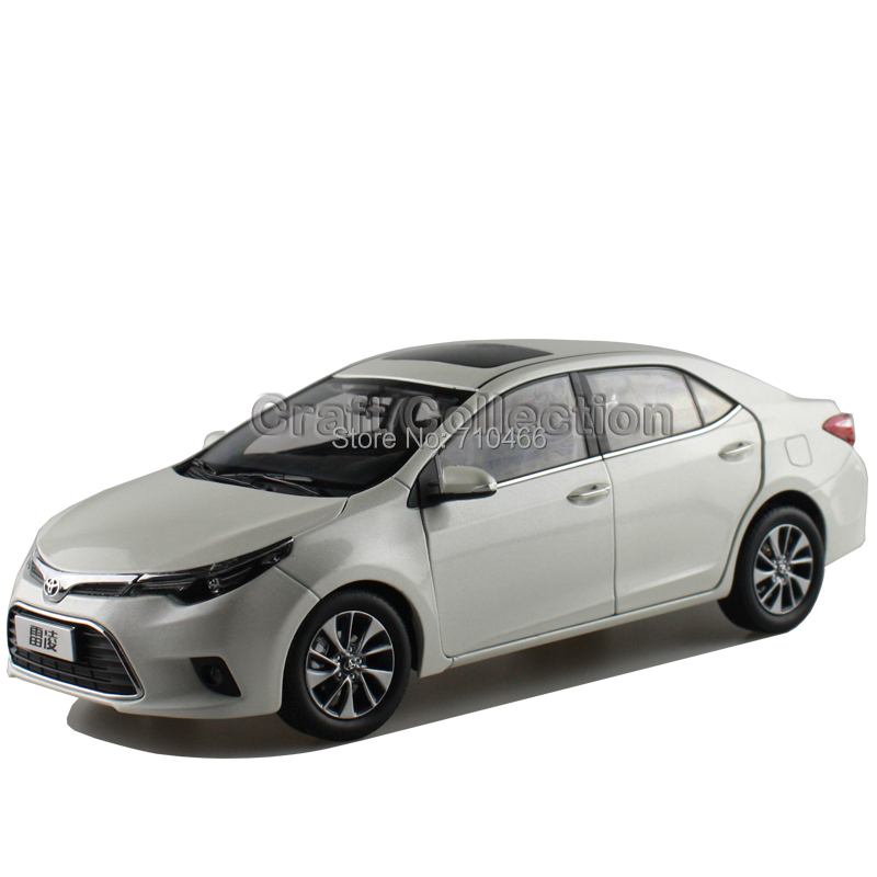 White 1 18 New TOYOTA LEVIN COROLLA Show Car Replica Metal Miniature Diecast Wholesale