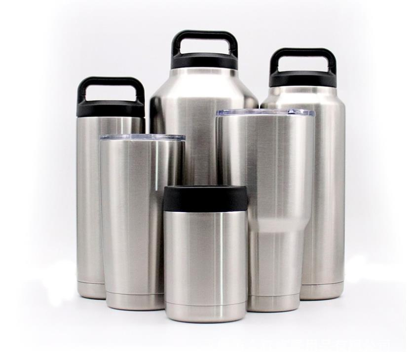 64oz 30oz 20oz Stainless Steel Travel Mugs Vacuum Thermoses Keep Warm or Cold Coffe Mug New Creative Drinking Bottle 10oz 12oz