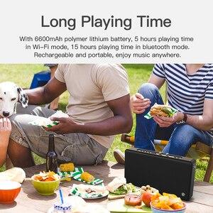 Image 5 - Ggmm alexa で E5 wifi スマートスピーカーワイヤレス bluetooth スピーカー 20 ワットポータブル重低音スピーカー電話エアプレイ dlna live365