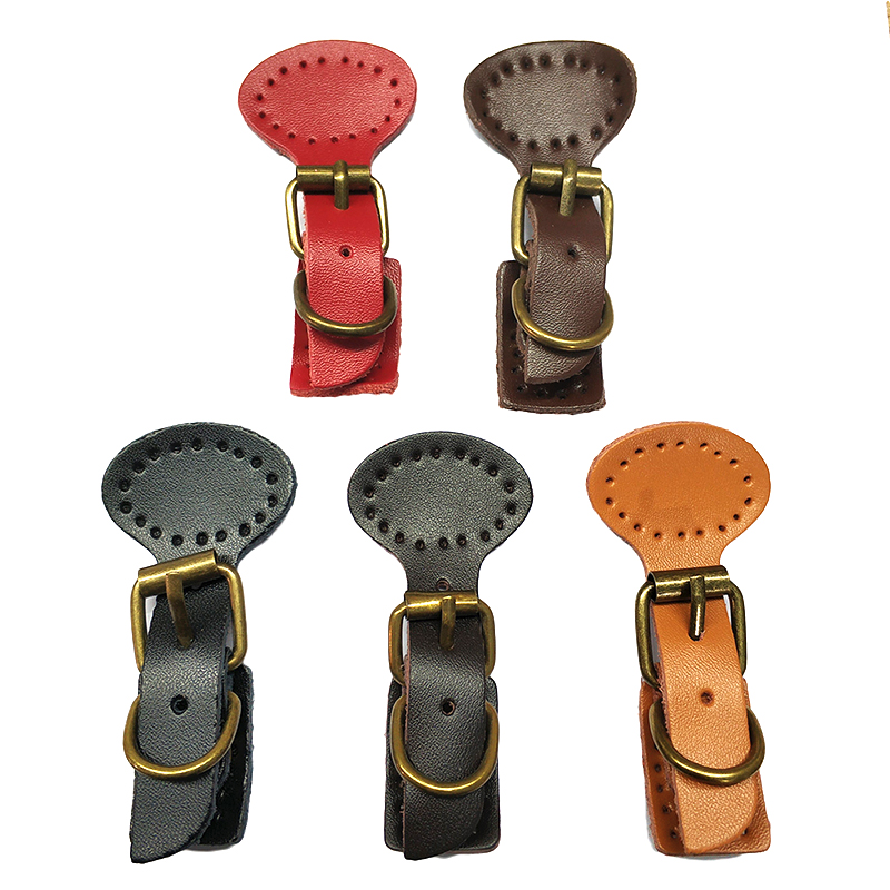 2pcs/Lot Sew On Leather Magnetic Snap Buckle Replacement Bag Fastener Making DIY Handmade Bag Lock Hardware Accessories KZ0263
