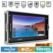 """Lilliput BM230 4KS Monitor de Director 4K de 23,8 """", HDR, 3D LUT, Color, 3840 2160 x, SDI, HDMI, Tally, VGA"""