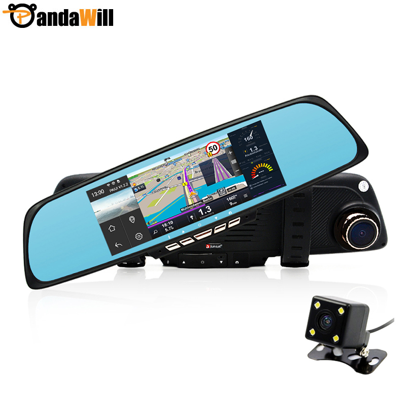 Russia Warehouse 6 86 font b Android b font Car DVR Camera Rearview Mirror Video