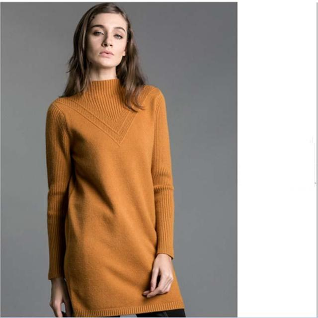 In The Long Head Top Half A Turtle Neck Long Sleeve Knit  Slim Warm High Quality  Knit