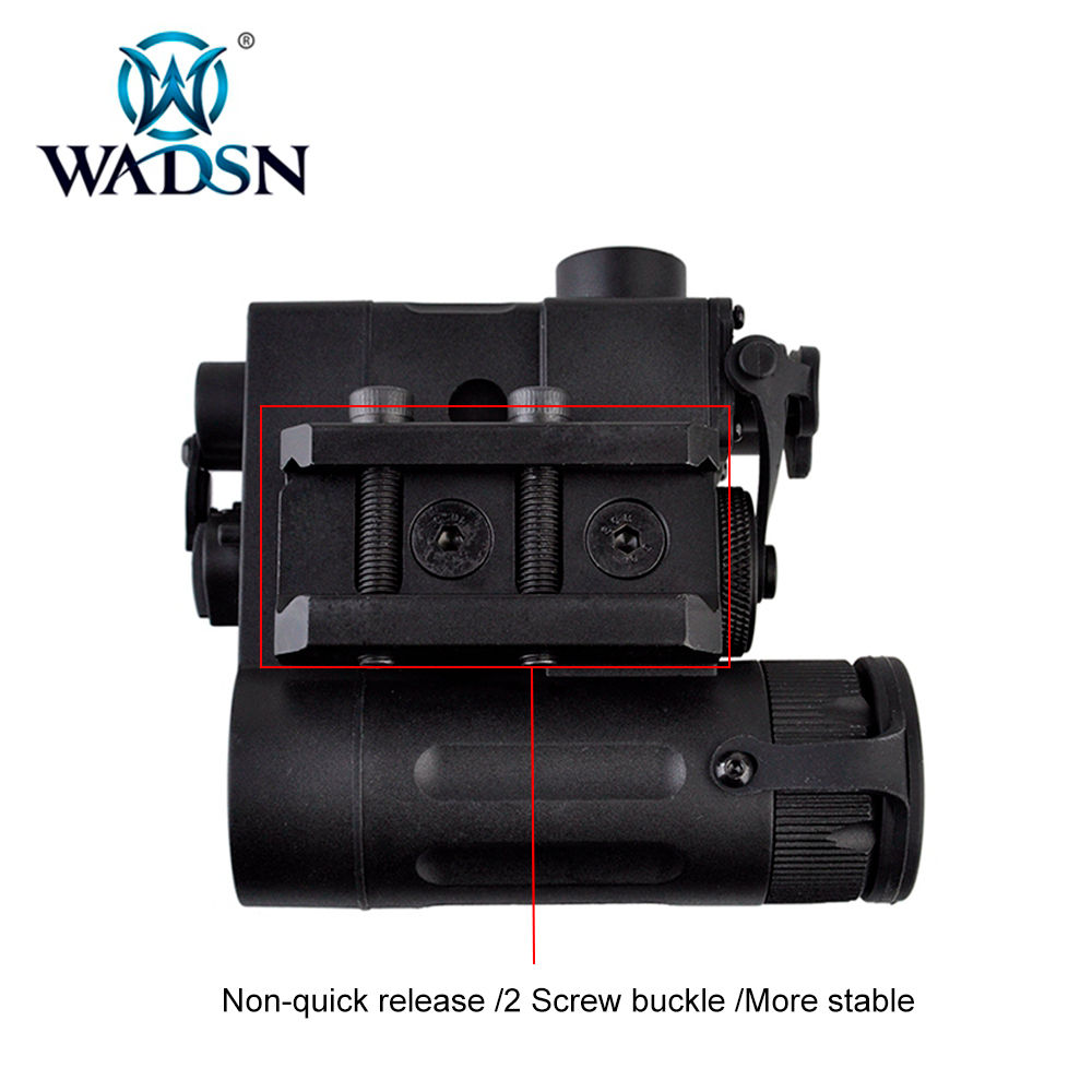 Image 4 - WADSN Tactical LED Flashlight Airsoft IR And Red Laser DBAL MKII Multifunction DBAL D2 Battery Case WEX328 Softair Weapon Lights-in Weapon Lights from Sports & Entertainment
