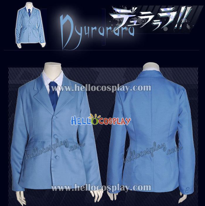 Durarara Cosplay School Boy Uniform H008