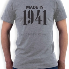 Made In 1941 75th Birthday Gift Idea Retro Cool T Shirt Novelty Present Men