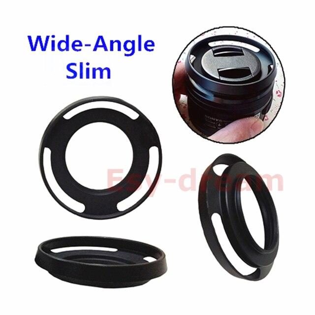 40.5 Mm Mỏng Góc Rộng Thoáng Khí Lens Hood Thay Thế LH S1650 Cho Sony E PZ 16 50 F/3.5 5.6 OSS SELP1650 40.5 Mm A6500 A6300 Nex 6 7