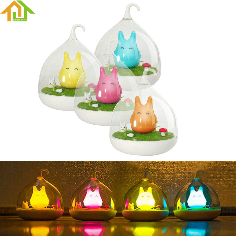 Indoor Portable Wall Lamp Touch Sensor USB LED Baby Kid Night Light Bedside Lamp Home Decor Bedroom