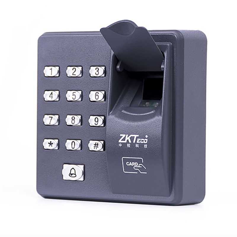 ZKteco Entrance guard system European standard door lock  Force Fingerprint Reader Keypad Office Access System gate openerZKteco Entrance guard system European standard door lock  Force Fingerprint Reader Keypad Office Access System gate opener