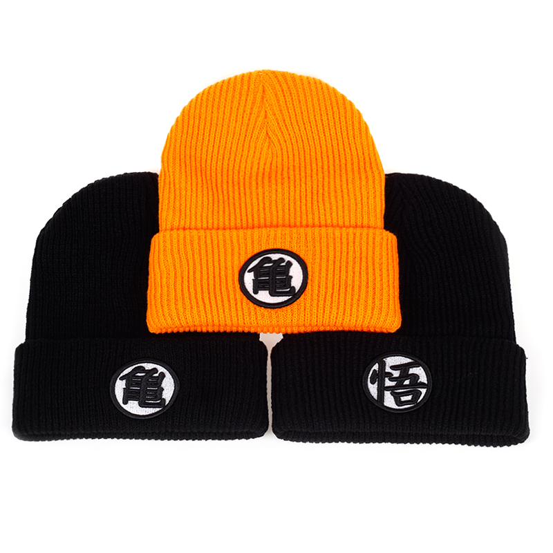 2017 3 style High quality Dragon ball Z Goku knit hat Beanies Winter warm hat Casual Men women Hip hop Autumn Winter cap hats