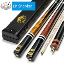 New Luxurious LP 3/4 Snooker Cue For Competition High-end Billiard Kit Stick with Portable Case 10mm Tip for Player 2019