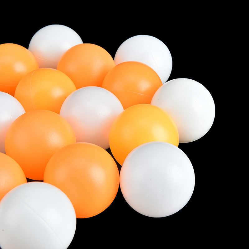 10 sztuk profesjonalny stół piłka tenisowa piłki do ping-ponga dla konkurencji akcesoria treningowe średnica 40mm żółty biały