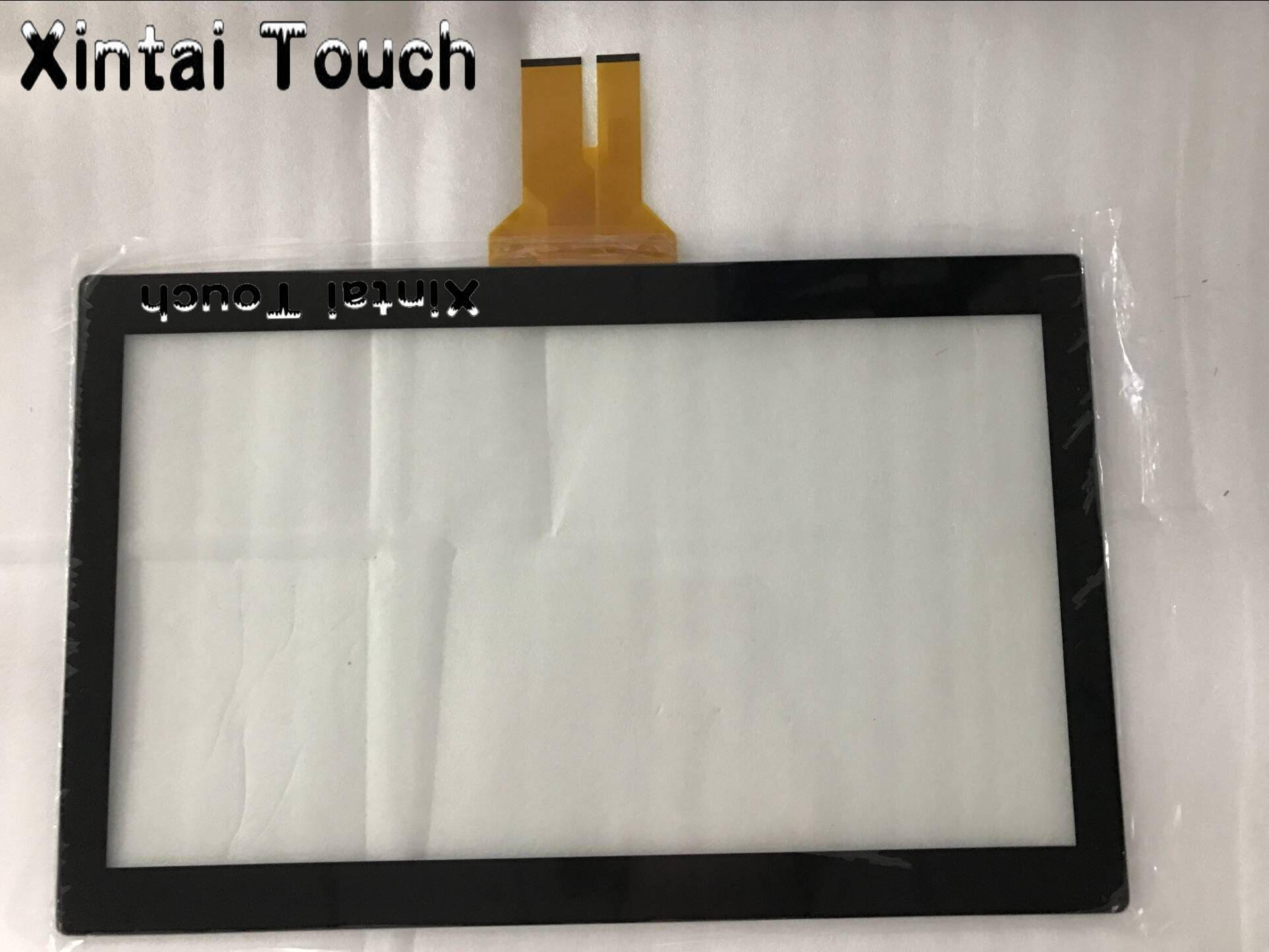 15.6 Inch 10 Points Capacitive Multi Touch Screen Overlay/ Multi-Touch Screen Panel Kit for LCD Monitor with EETI controller 32 inch high definition 2 points multi touch screen panel ir multi touch screen overlay for touch table kiosk etc