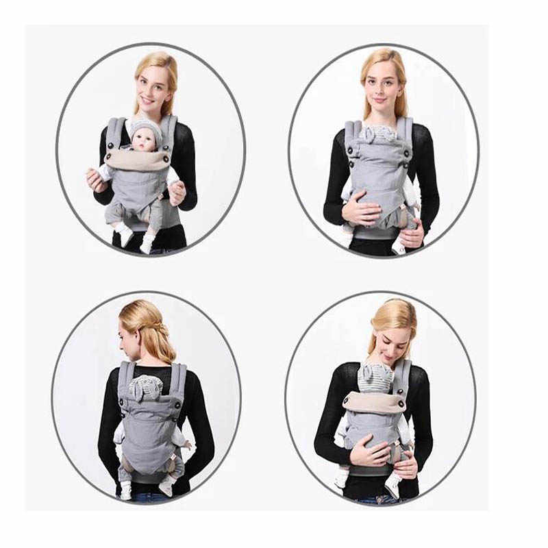 Nosidełko dla dziecka 360 bawełna organiczna noworodek Wrap Sling plecaki dla niemowląt niemowlę regulowane dzieci Manduca nosidełko dla dziecka z nosidełkiem