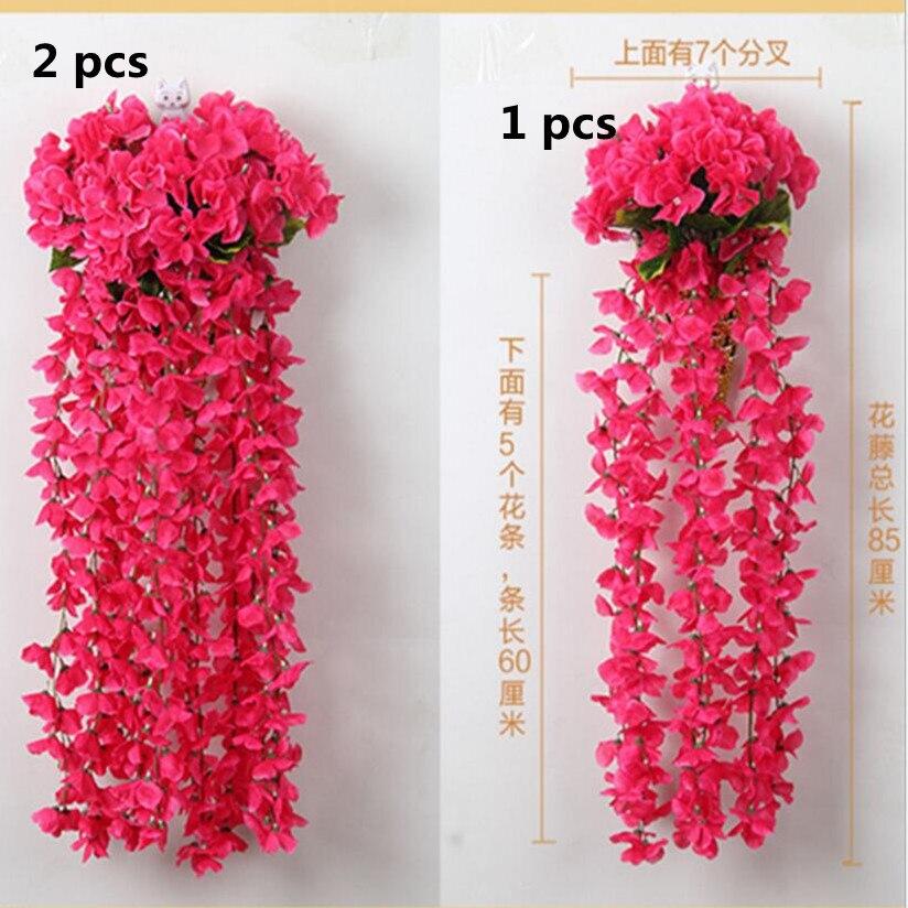 Искусственные подвесные цветы