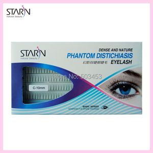 High Quality Nnatural false eyelashes V lash extension silk 0.1mm Curl Eye lash Extension Makeup cilios posticos False Eyelashes