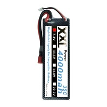 XXL 4000mah 7.4V 2S 35C Li-po battery with hard case for RC akku RC Car truck boat Helicopter 1/10 1/8 Car