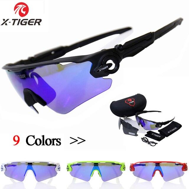 72c9f5c77 X-TIGER Polarized UV400 Óculos de Ciclismo Óculos de Mountain Bike Óculos  Óculos de Ciclismo