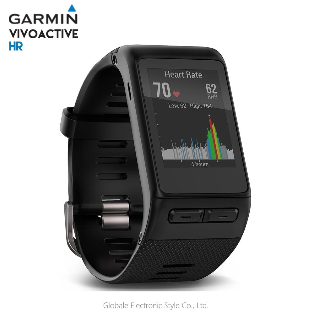 Origianl Garmin vivoactive HR Smart Watch Bluetooth 4.0 Waterproof Smartwatch Heart Rate Monitor Wristband GPS