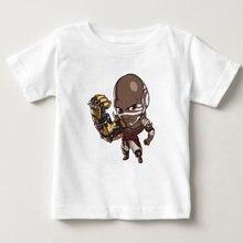 Детская футболка из 100% хлопка с принтом «Игра ow»