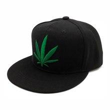 Moda Snapback Caps Chapéus de Hip Hop do Boné de Beisebol Homens Mulheres Strapback Gorras Osso Aba Reta Homme Casquette Snapback erva daninha