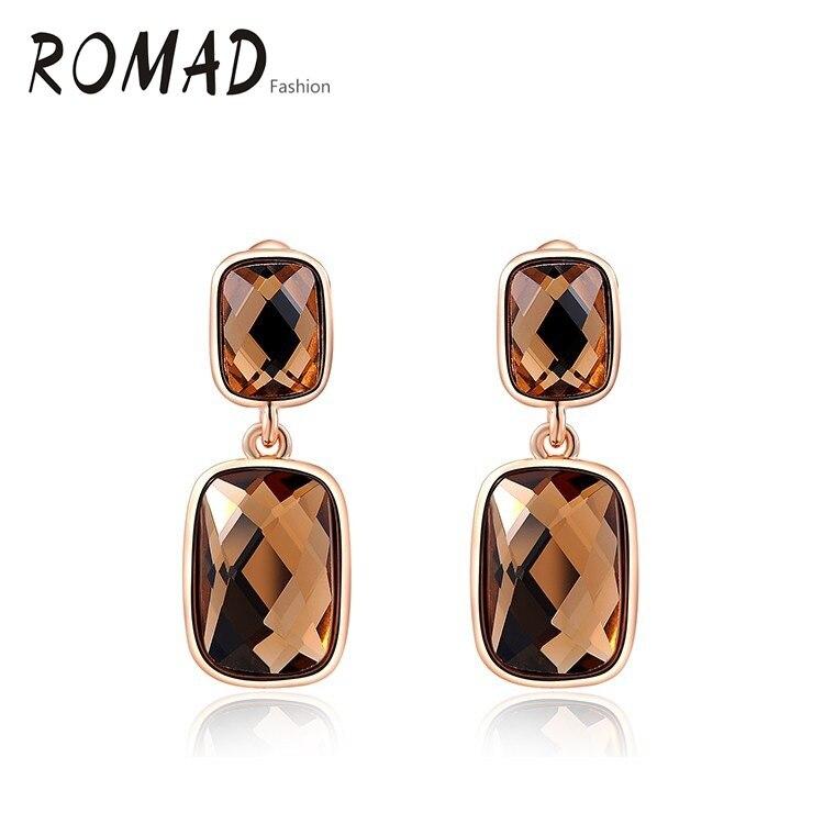 Сережки ROXI справжні австрійські - Модні прикраси