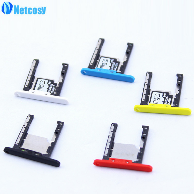 Netcosy SD Card Tray Slot Holder for Nokia Lumia 720 Replacement Parts Repair Part High Quality Cheap Phones Accessories