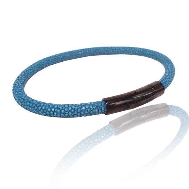 Luxury Stingray Leather Bracelet 4