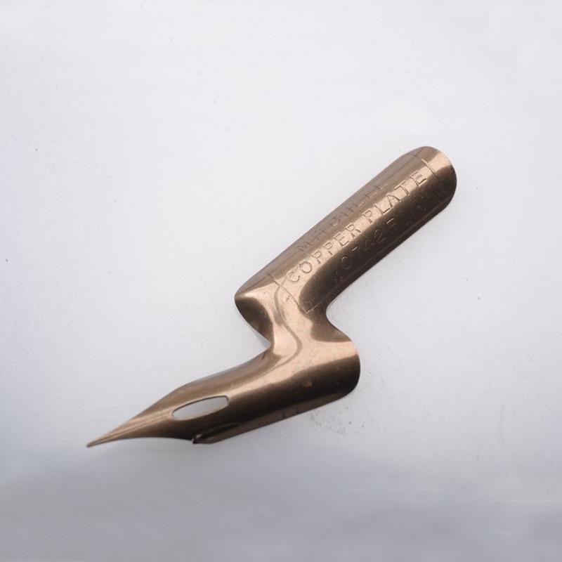 ไส้ปากกาทองแดงคุณภาพสูง Mitchell Elbow Nib สำหรับปากกาจุ่ม