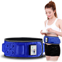 Electric Body Slimming Belt Heat Function Vibra Vibration Weight Loss Rejection Fat Massage Slimming Machine Slim
