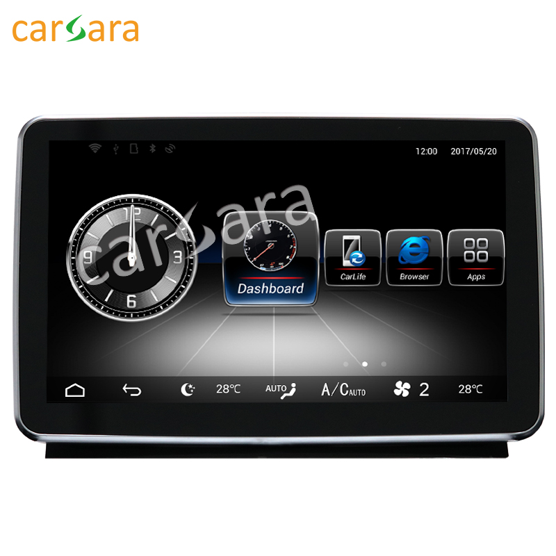 9 Android Navigation monitor for Benz ML GL 2012-2015 2012 to 2015 GPS stereo touch screen multimedia player