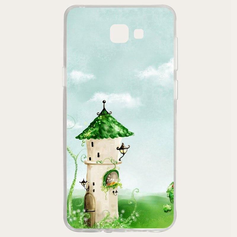 Mutouniao Castle Silicon Soft TPU Case Cover For Samsung Galaxy S3 S4 S5 S6 S7 S8 S9 Edge Plus I9300 I9500 E5 E7