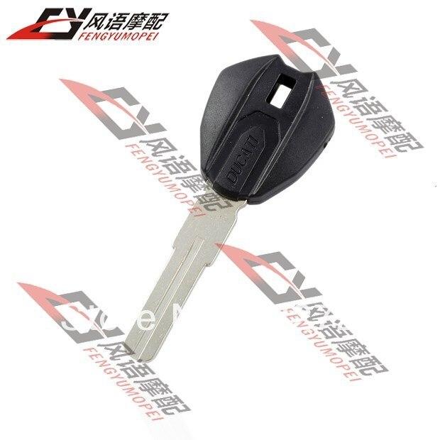 Бесплатная доставка ключ мотоцикла для Ducati 696 MONSTER 1100 посвященный Высокое качество чип может быть установлен заготовки ключей 1 шт.