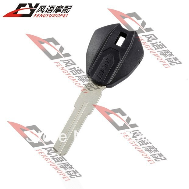 Free Shipping Motorcycle key for Ducati 696 Monster 1100 dedicated Hight Quality Chip can be installed Key blanks 1pc