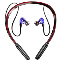X9 Dual Dynamic Bass Sound Bluetooth Earphone Hook/in-ear Stable Sport Wireless Headphone 250mAh TF Card MP3 Waterproof Headset(China)