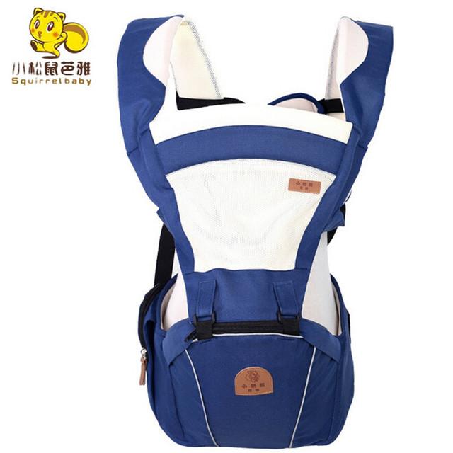Estilingue Portador de Bebê recém-nascido Portátil Multifuncional Ajustável kid carriage envoltório estilingue Infantil Respirável Cintura Fezes Hip assento