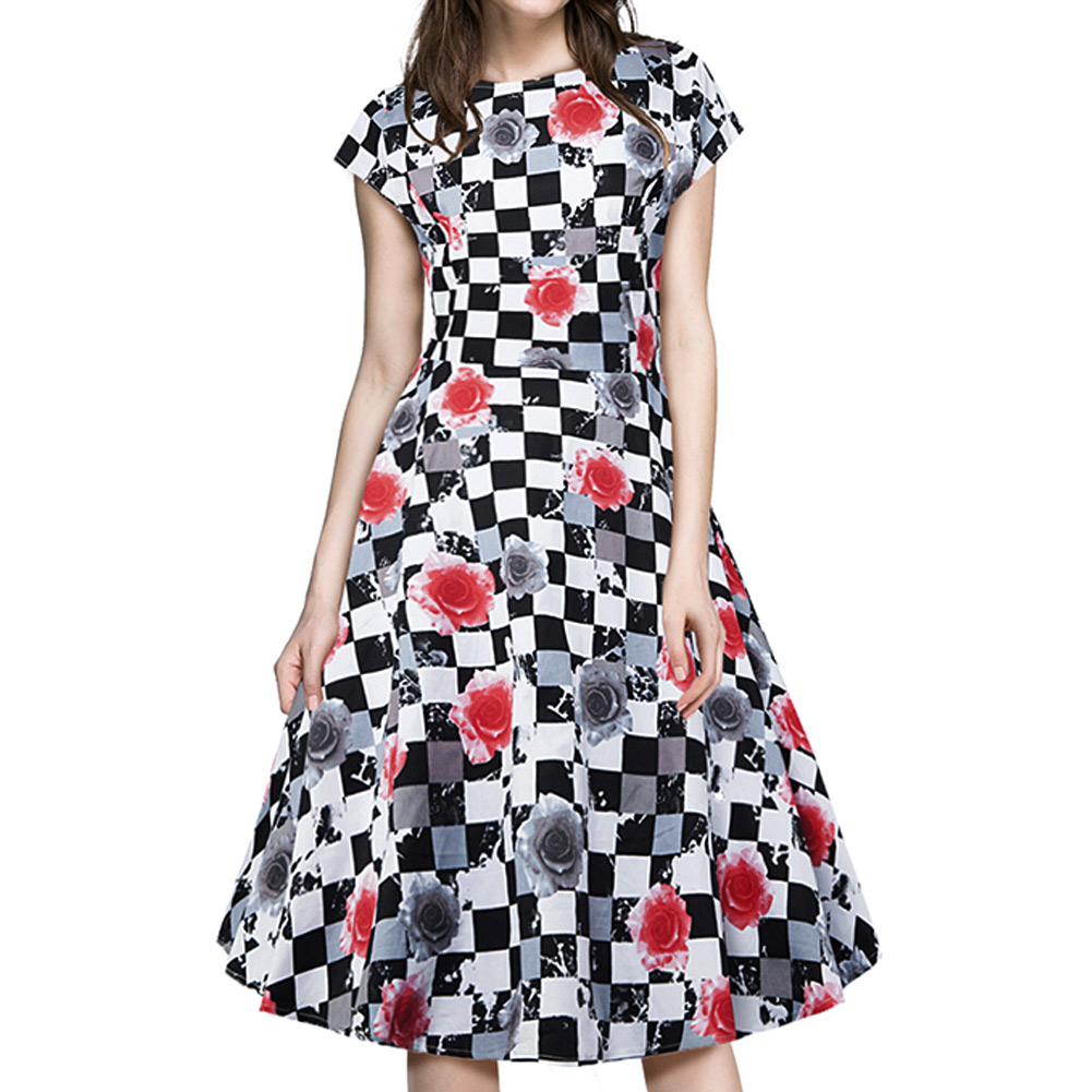 Online Get Cheap Vintage Rose Dress -Aliexpress.com - Alibaba Group