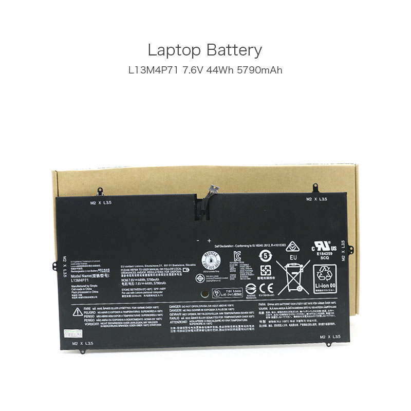 7.6V 44Wh 5790mAh L13M4P71 2ICP3/73/131-2 Laptop Battery for Lenovo Yoga 3 Pro 1370 Yoga 3 Pro-1l370 Series Notebook 4 Cells apoepo red pom poms peep toe sandals boots clear pvc front zip stiletto high heels ankle boots summer shoes woman big size 2018