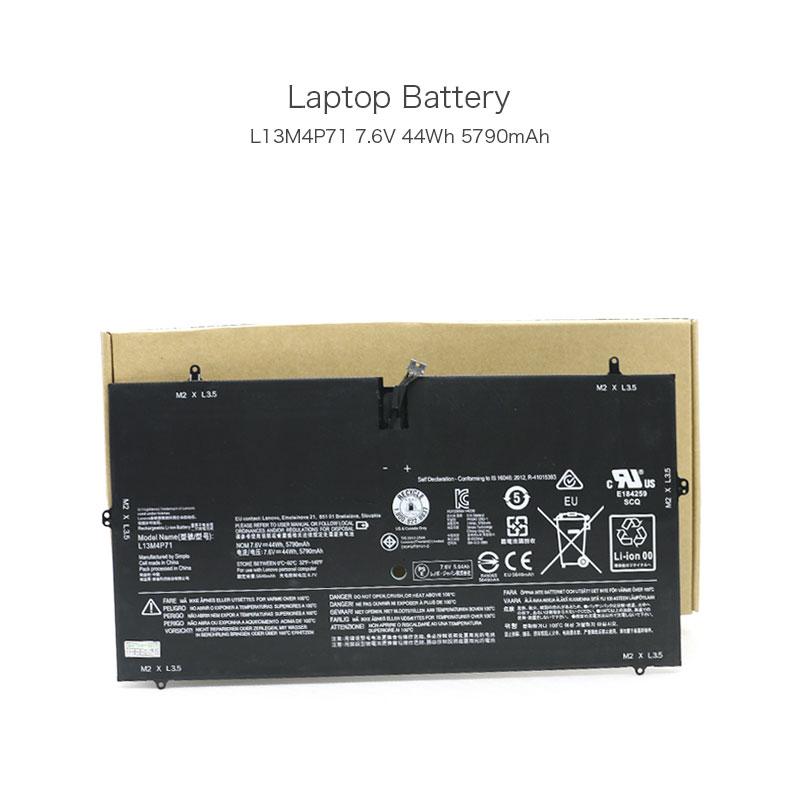 7.6V 44Wh 5790mAh L13M4P71 2ICP3/73/131-2 Laptop Battery for Lenovo Yoga 3 Pro 1370 Yoga 3 Pro-1l370 Series Notebook 4 Cells цена