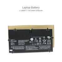 7.6V 44Wh 5790mAh L13M4P71 2ICP3/73/131 2 Laptop Battery for Lenovo Yoga 3 Pro 1370 Yoga 3 Pro 1l370 Series Notebook 4 Cells