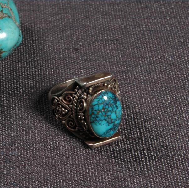 Handcrafted Nepalese 925 Silver Ring Tibetan 925 Sterling Silver Ring Silver Bohemia Ring ResizableHandcrafted Nepalese 925 Silver Ring Tibetan 925 Sterling Silver Ring Silver Bohemia Ring Resizable