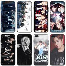 BTS Bangtan Boys NEW LOGO Cover phone Case TPU and PC protective jacket For iPhone5 5C 5S 6 6S SE X 7 7plus 8 8plus shell(China)