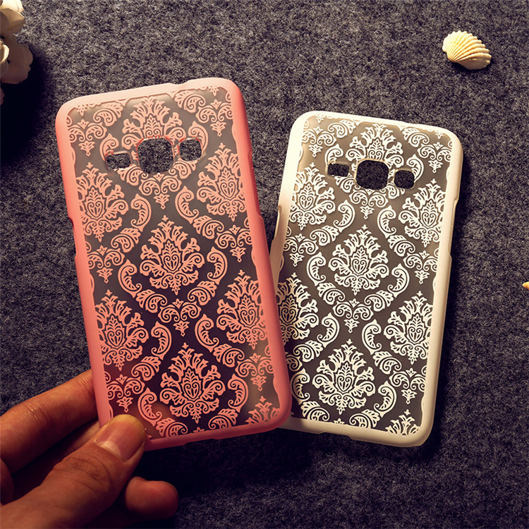New printed Hollow Out Flower Styles <font><b>Phone</b></font> <font><b>Cases</b></font> <font><b>For</b></font> <font><b>Samsung</b></font> <font><b>Galaxy</b></font> J1 <font><b>J100</b></font> / Win Duos i8552 / Star Pro S7260 S7262 Covers T007 image