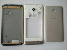 Original Housing Case For Lenovo S930 6 Inch LCD Holder Screen Front Frame Battery Back Cover With Antenna+Camera Lens