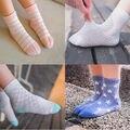5 Pairs Лето Детские Мальчики Девочки Носки Моды Сетки Дети детские Девушки Хлопчатобумажные Носки