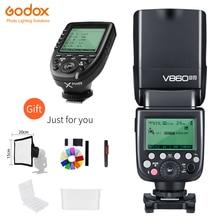 Godox V860II N 2.4G HSS 1/8000 s bezprzewodowy i ttl II Li i staje w sytuacji sam na sam lampa błyskowa Speedlite + xpro n bezprzewodowy nadajnik dla Nikon