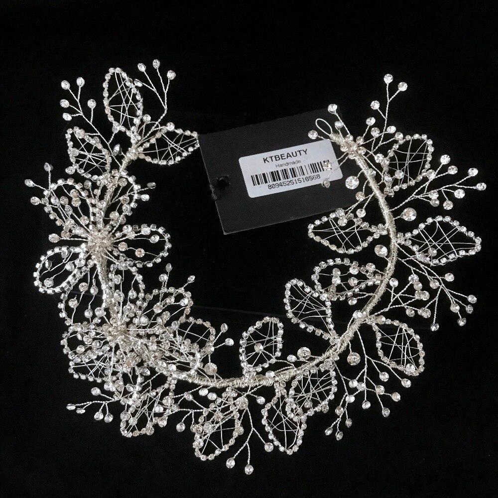 News Rhinestone Crystal Tiara Silver Tiara Fashion Headpieces Royal Bridal  Wedding Dressing Crown Accessory Women Jewelry f00c9dfcc28b