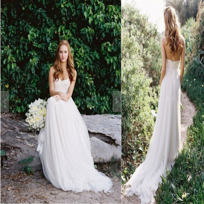 Online Get Cheap Flowy Wedding Gowns Alibaba Group