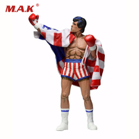 Action Figure 7 Rocky Sylvester Stallone Classic Video Games Appearance 1987 Model Toys Gifts